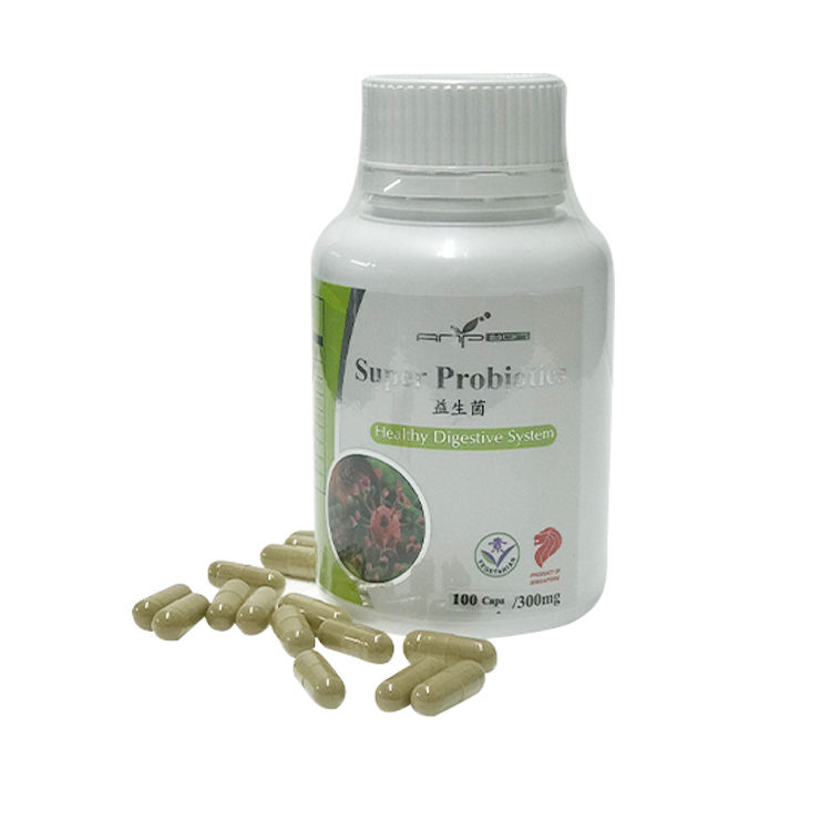 Super Probiotics Capsules Improve Digestive System Enhance Colon Health And Function