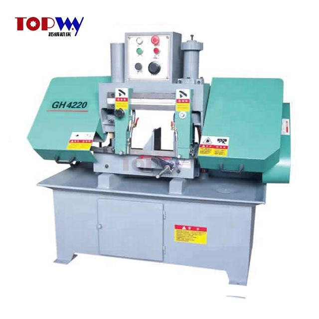 Factory directly sale low price GH4220A hydraulic Double Column Horizontal Band Saw Machine