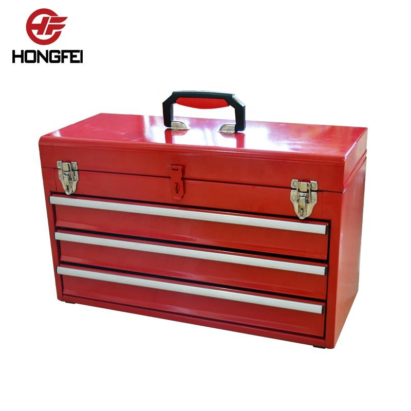 Best choice products portable barber tool box with sliding drawers