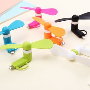 Cooling Fan 2 in1 Mini Usb Fan for Iphone Mobile Phone USB,New Product Portable Mini Fan