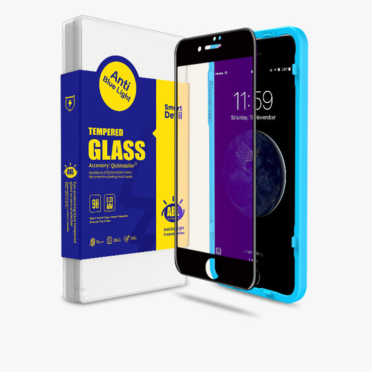 S6 eingefasst plus screen protector rinco material