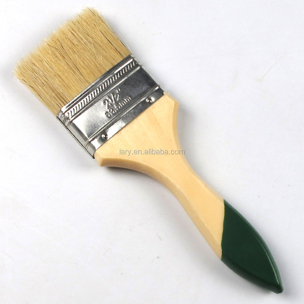 """LOT 288 Natural Bristle 2.5/"""" Chip Brush Paint Stain 2.5 inch brushes 2-1//2"""