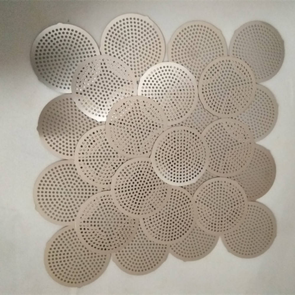 High Precision Photo Chemical Etching Stainless Steel Filter Mesh Sieve Screen