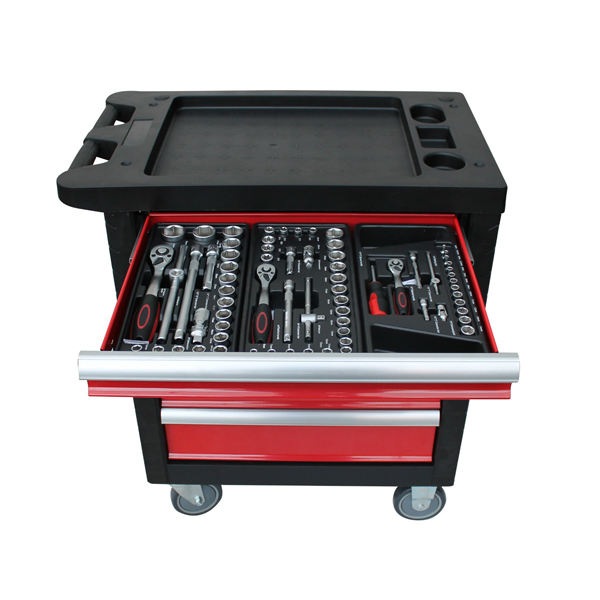220pcs Tool Cabinet With Hand Tool Set Trolley With Tool