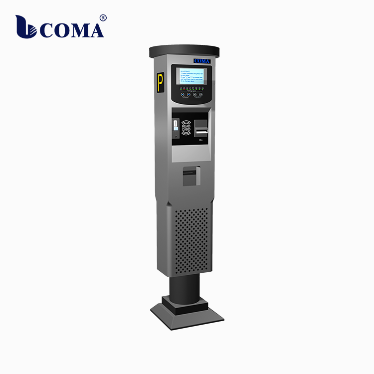 Automatic Parking Meter Street parking payment machine accept coin and bill