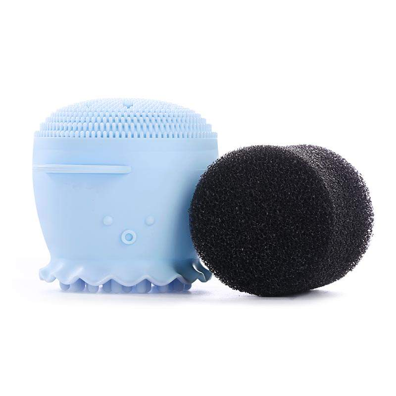 New Product Ideas 2019 Face Facial Cleanser Cleansing Brush Silicone,Face Cleanser And Massager Brush