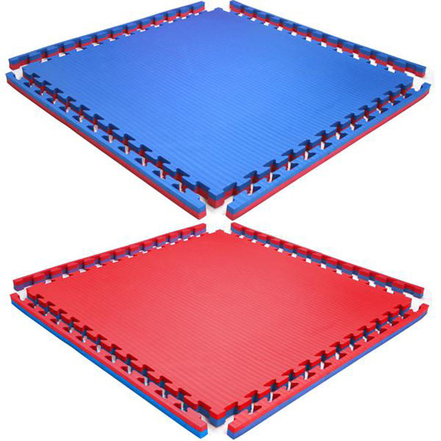 Factory direct supplier eva foam martial art training puzzles floor mat with wholesale price