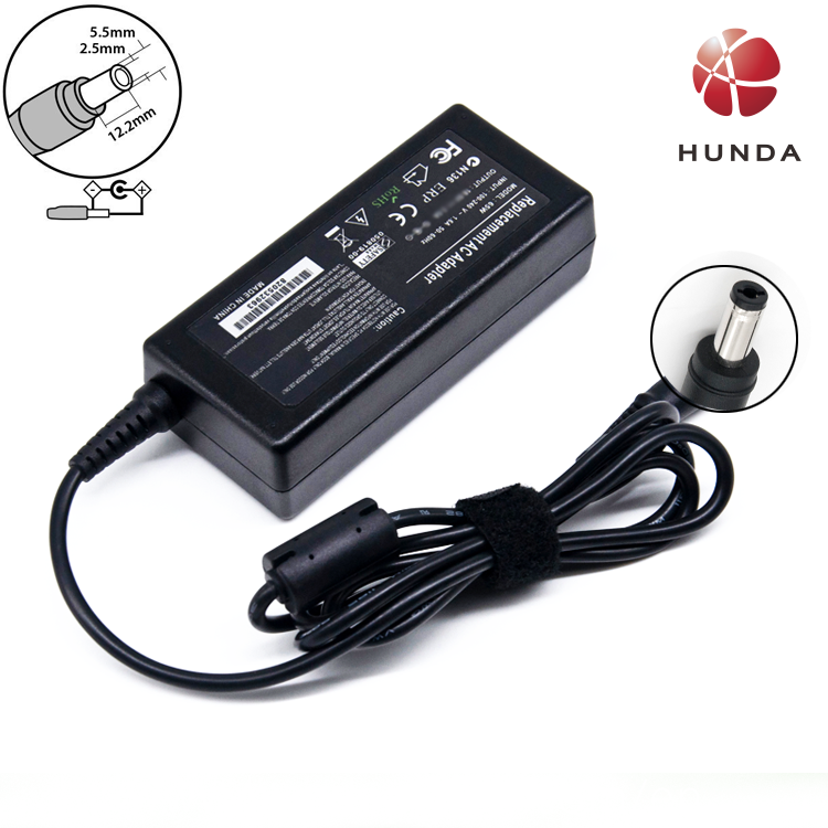 Replacement 60W LCD Power AC Monitor Adapter 12V 5A Adapter Supply Charger for Benq LCD Monitors 5.52.5mm or 4pin