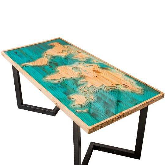 Clear Epoxy Resin India Table