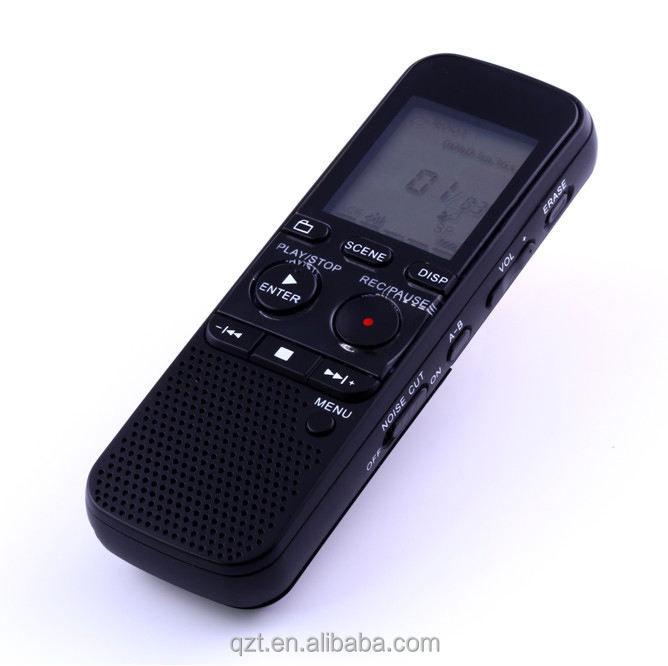 Multi-function 4 GB Digital Voice Recorder Rechargeable MP 3 Player