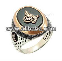 Turkish Ottoman Silver islamic Man Ring Muslim Men Arabic LETTER WAW Alif ethnic middle eastern red agate men ALLAH dervash onyx