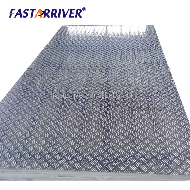 Factory low price custom design diamond Checkered plate stucco Embossed Aluminum Sheet