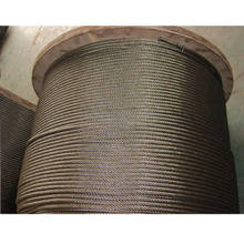 galvanized steel wire rope carbon fiber rope 8x19s+fc
