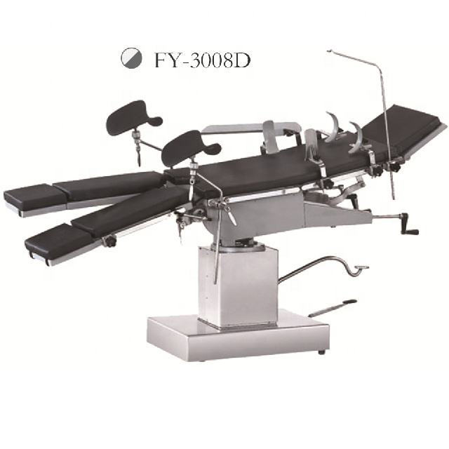 VON Factory Price Hot Selling Manual Side OT Table Universal Operating Table Surgical Table FY-3008D
