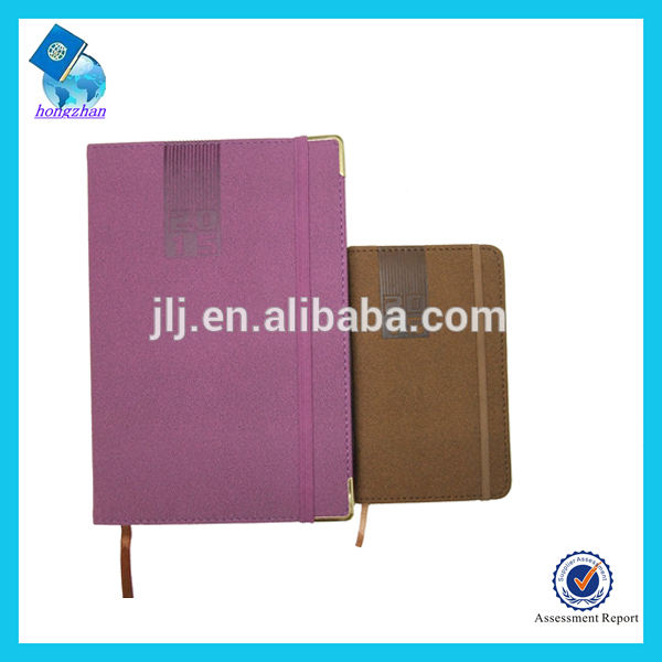 دفتر هدية ترويجية مع حزام مطاط