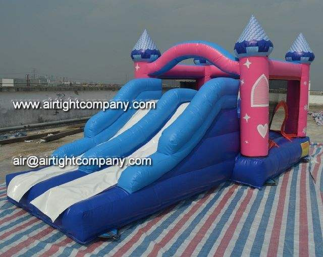 top quality inflatable bouncy combo castle house toys sale to Netherlands