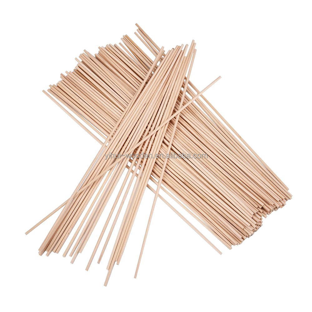 Unfinished Natural Wood Craft Tasselli Rods 12 Pollice x <span class=keywords><strong>1</strong></span>/<span class=keywords><strong>8</strong></span> Pollice