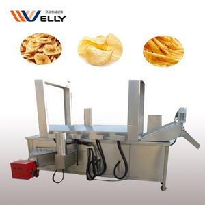 Banana plantain potato chips fryer / french fries frying machine/ chicken industrial fryer machine