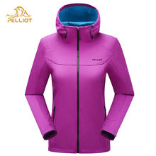 OEM latest warm sports can customized soft shell jacket for ladies