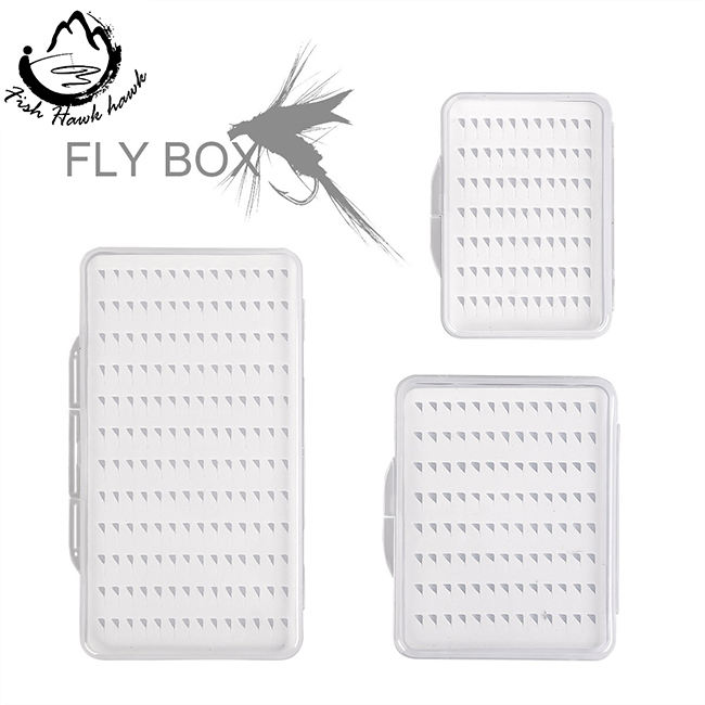 New design Transparent ultra-thin fly fishing box