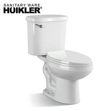 American Standard Siphonic Normal Height Round Front Toilet White 2-Piece toilet