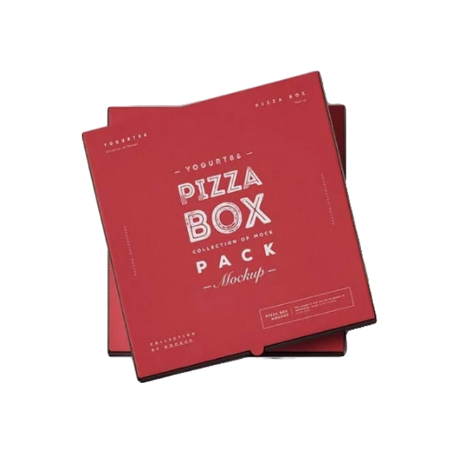 Trending hot products custom embossing disposal pizza box corrugated