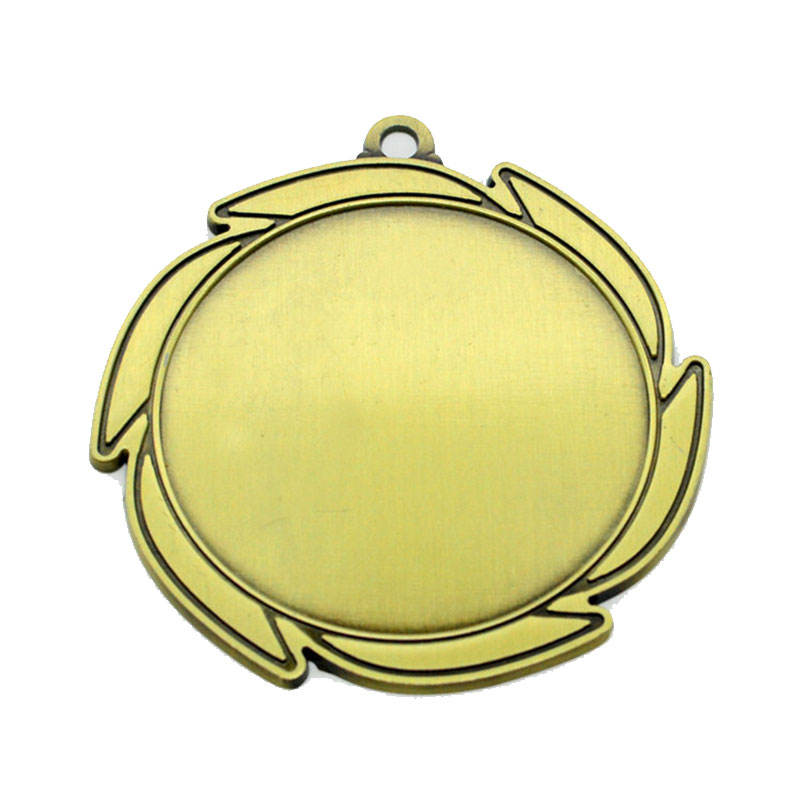 Wholesale Gold Fiesta Blank Metal Running Sports Medals Custom Medal