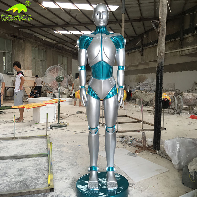 KANOSAUR5843 Entertainment Park New Products 2016 Human Size Robot