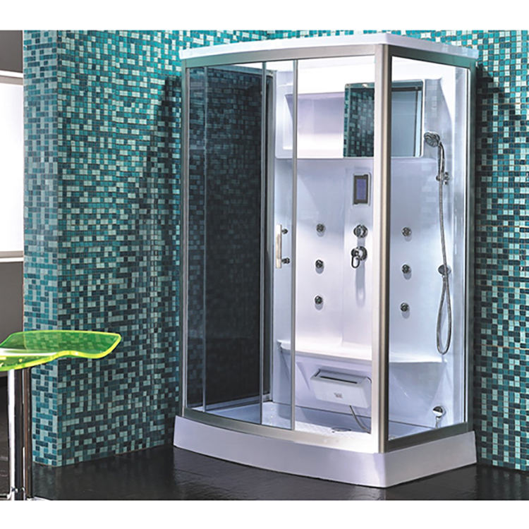 Top quality RoHS modern golden steam shower stall