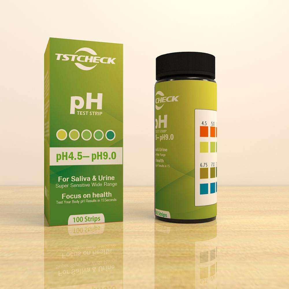 pH 4.5 -9 Test Strips for Urine Saliva and other Non Viscous Liquids