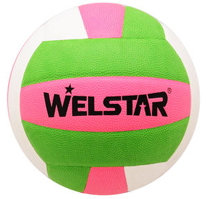 High Quality Soft PVC/PU Wholesales OEM Brand Size 5 Professional Laminated Volleyball for Training or Match