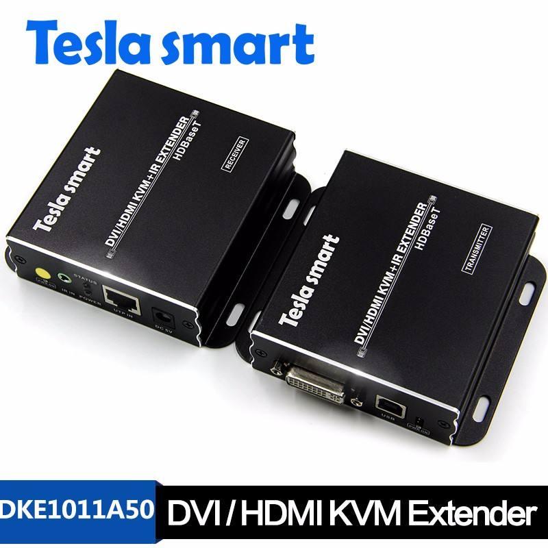 ホット販売4 k usb dvi/hdmi kvmエクステンダー100メートルでオーディオhdbaset ir