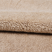 looped fabric bonding with sherpa super soft sherpa fleece for toys and leisure wears