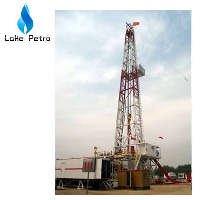 Oil Drilling ZJ40/2250LDB Skid Mounted Drilling Rig