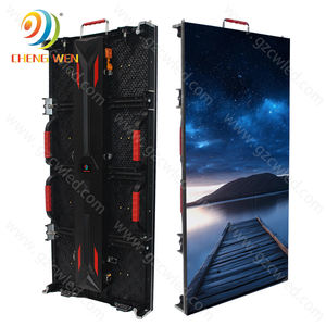 Outdoor LED Display Panel Layar 500*1000 Mm P3.91 P4.81 Iklan LED TV Dinding Sewa Display