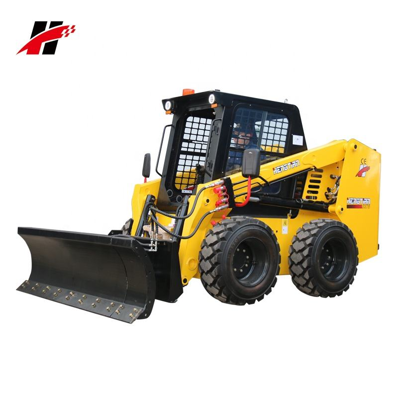 Racoon รถตักลื่นไถล 60hp to 90hp ล้อและ tracked loader