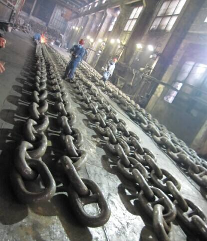 China High Quality Marine Black Anchor Studless Chain with CCS certificate