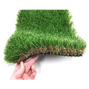 Good Drainage Paradise U Shaped Fiber Artificial Garden Grass Synthetic Turf For Outdoor Decoration