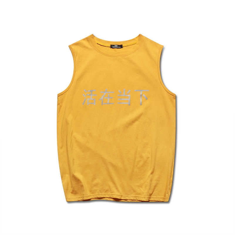 Groothandel Nieuwste Hoge Kwaliteit Mouwloos <span class=keywords><strong>Vest</strong></span> T-shirt Voor Mannen In China