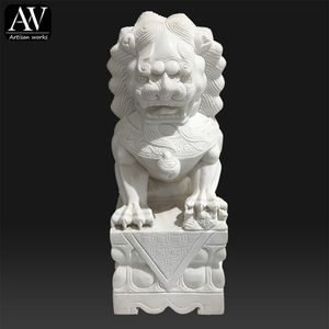 Western outdoor decoration life size garden lion statue mold