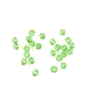 8mm Apple Green Color Crystal Bicone Beads Ornament Jewelry Beads Loose Beads for Diy Jewelry Making
