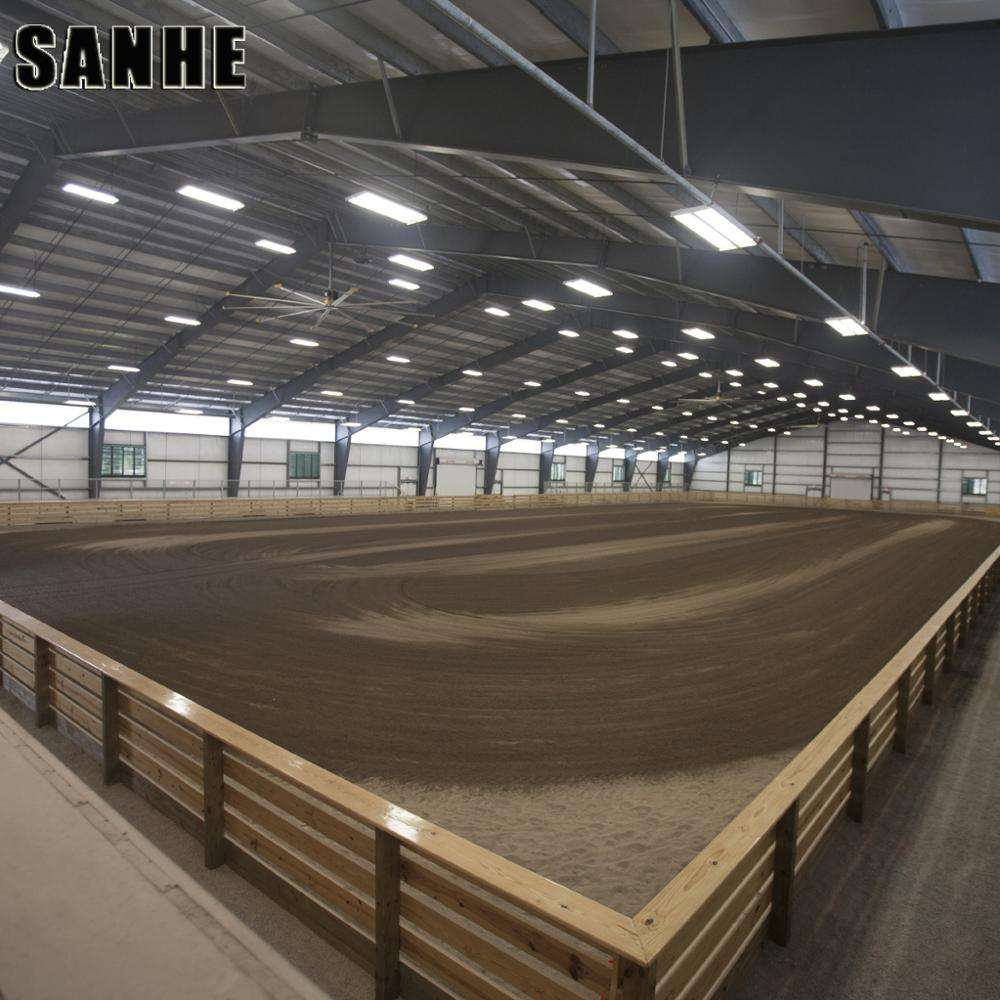 Metal Building Materials prefab steel structure big horse arenas shed