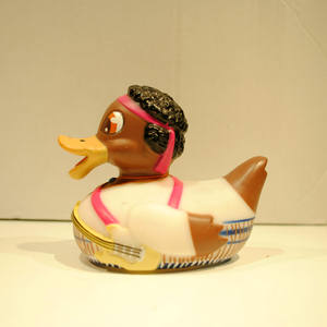 Cute baby bulk tribal style rubber toy duck for sales