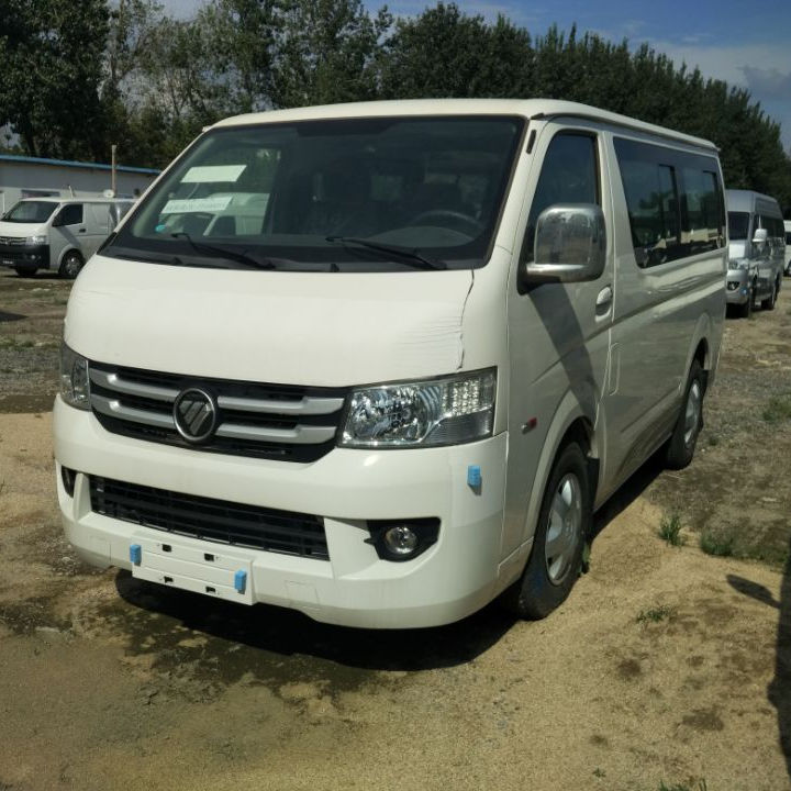 2016/2017/Stock Foton mini bus Low price 15 seats gasoline engine mini van / mini bus for sale