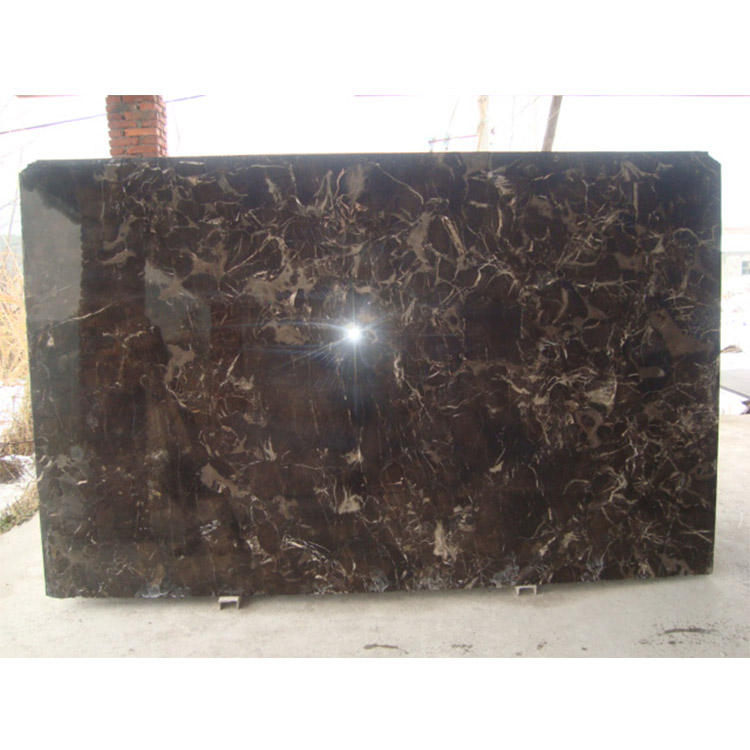 dark brown hone marble floor tile