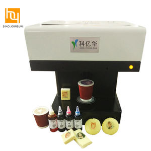 3D Selfie coffee eatable digital printer machine