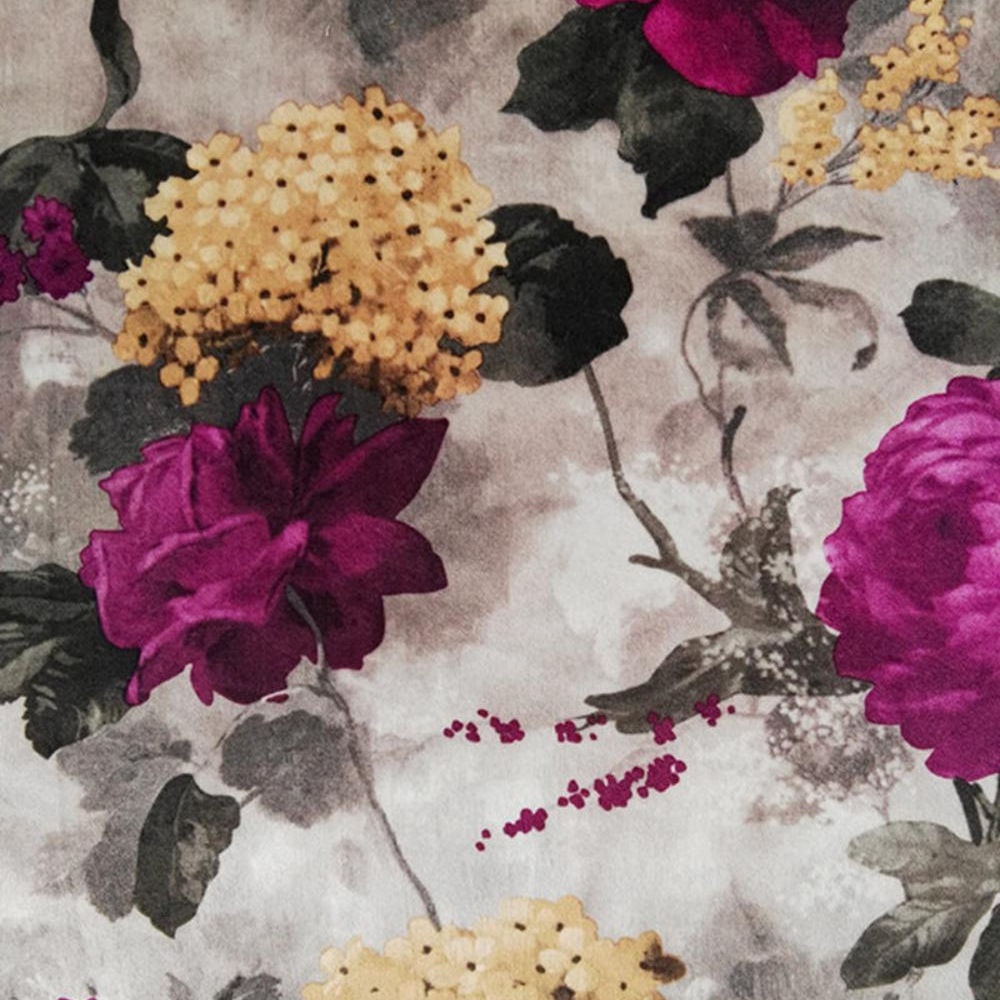 Chinese Supplier100%Polyester printed velvet fabric for sofa curtain