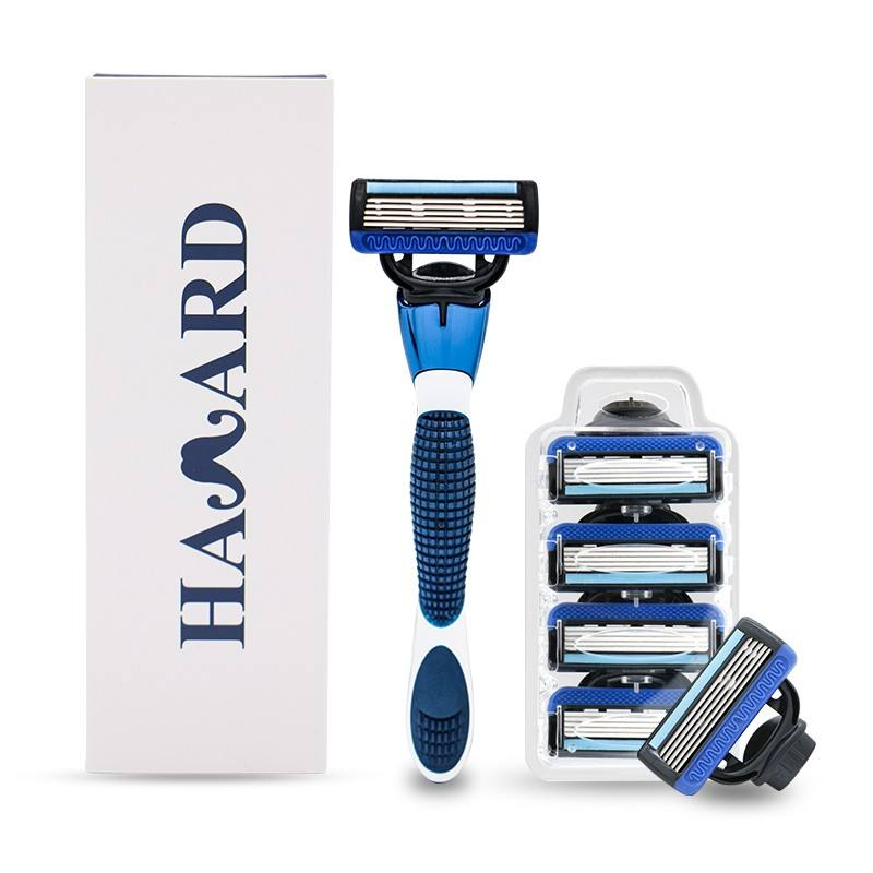No Disposable Feature Manual Razor, 5 Blades System Razor with Replaceable Head/razor system