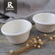 China factory manufacture plastic mini melamine soy white small dip sauce bowls