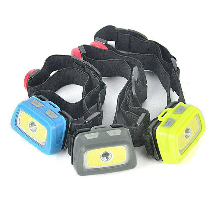 High Power LED Headlight Multifunctional Emergency Head Torch Lamp